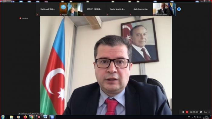 Extraordinary plenary meeting of NAM group under UNESCO held under chairmanship of Azerbaijan