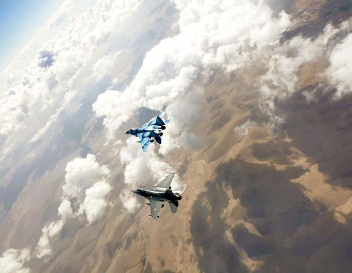 "Azerbaijani military pilots successfully participate in ""Anatolian Eagle - 2021"" exercises"