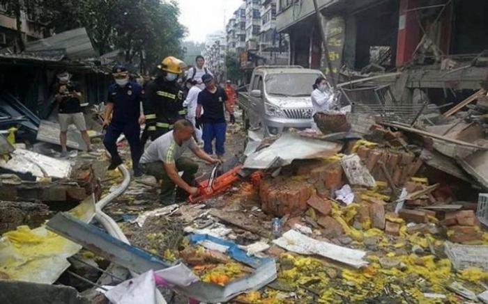 مقتل 11 شخصاً في انفجار غاز بالصين