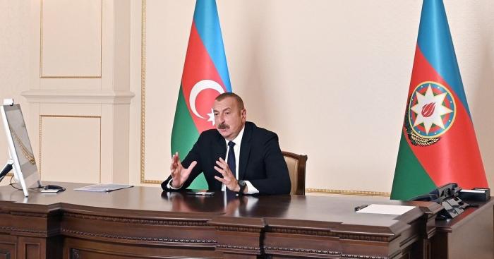 الرئيس:   أود أن أرى مشاركة شركات من دول منظمة التعاون الإسلامي في عملية إعادة إعمار المناطق