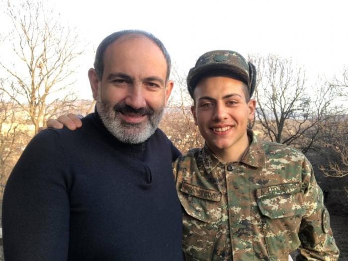 باشينيان أمر بعرض استبدال ابنه بمحرضين أرمن