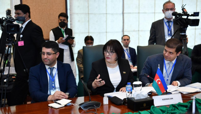 Azerbaijani parliament speaker addresses 2nd General Conference of PAECO in Islamabad