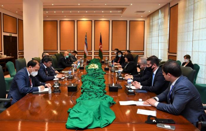 Azerbaijani, Uzbek parliament speakers meet in Islamabad