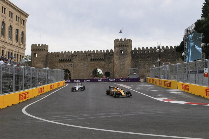 Formula 1 tweets about first day of Azerbaijan Grand Prix