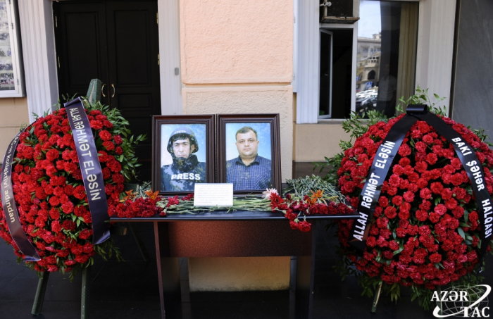 AZERTAC hosts ceremony to commemorate martyred journalists