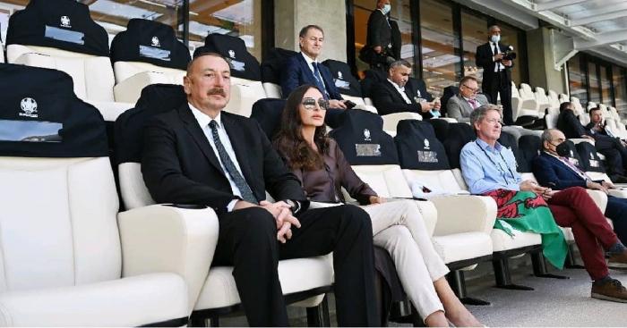 مهريبان علييفا أصدرت منشورًا فيما يتعلق بالمرحلة النهائية من يورو 2020 -  صور