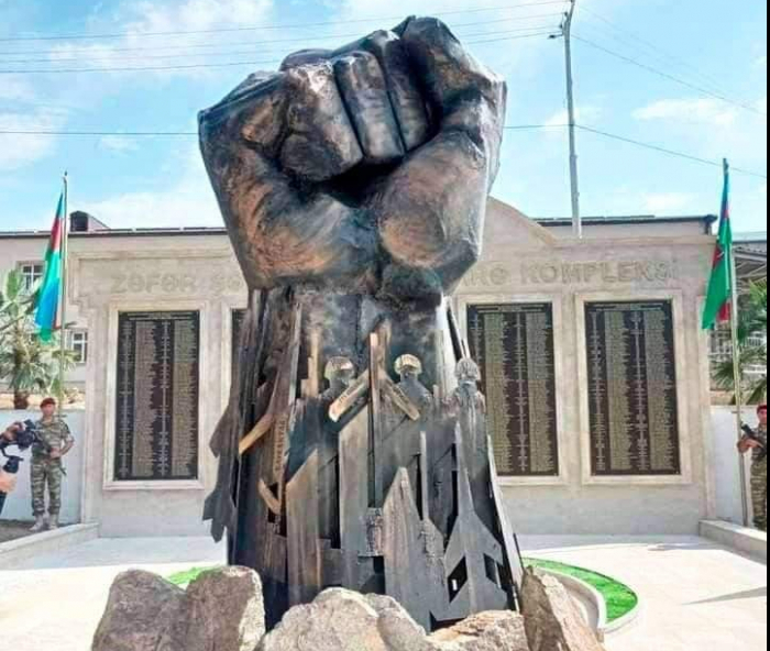 """Iron Fist"" monument erected in Azerbaijan"