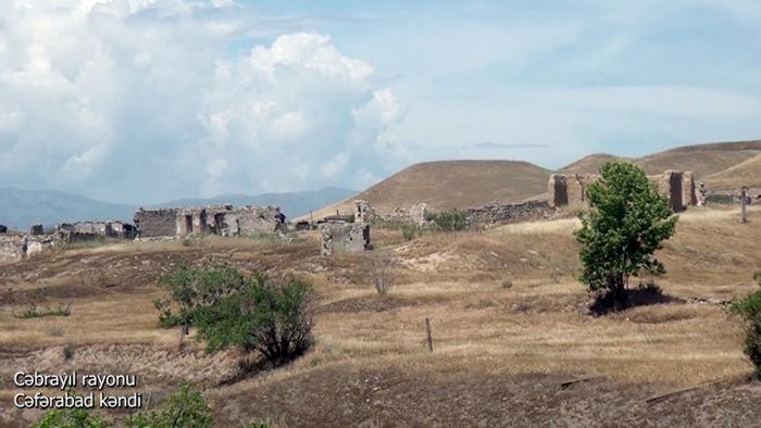 لقطات من قرية جعفر اباد منطقة جبرائيل -   فيديو
