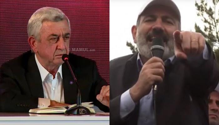 """""""Elə fakt açıqlayacam ki, cəmiyyət üzünə tüpürəcək"""" -  Sarkisyan Nikolu ailəsi ilə şantaj edir"""