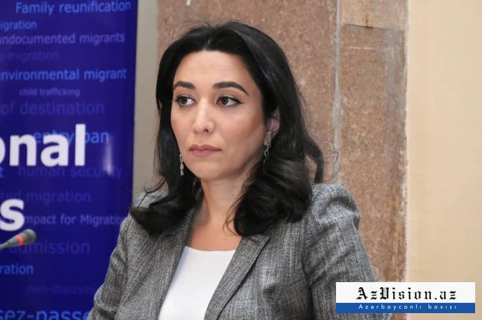 """""""Erməni ombudsman bir dəfə də olsun əsirlərimizə baş çəkmədi"""" -  Səbinə Əliyeva"""