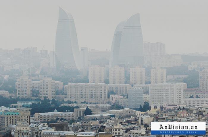 Bakı və Abşeronda toz dumanı müşahidə olunur-    ETSN
