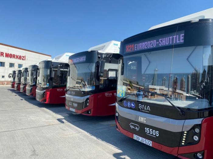 AVRO 2020:  Bakıda ekspress avtobuslar fəaliyyətə başladı