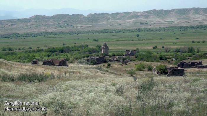 Une   vidéo   du village de Mammadbayli de la région de Zenguilan a été diffusée
