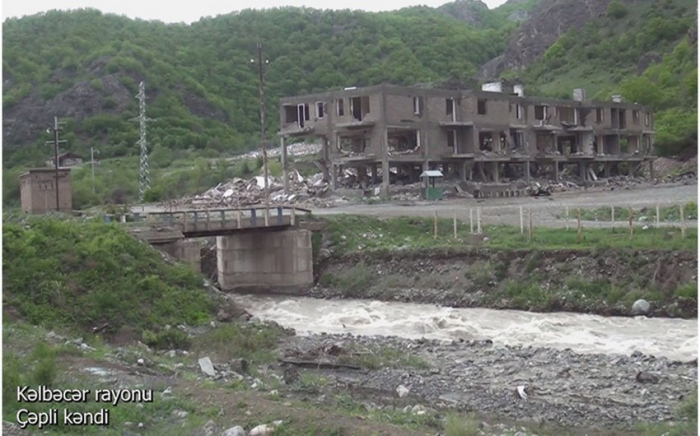 Village de Tchepli de la région de Kelbedjer -   VIDEO
