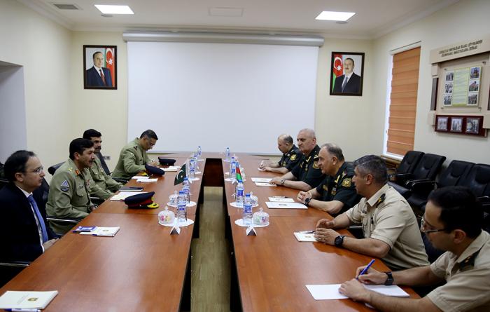 Azərbaycan-Pakistan hərbi əməkdaşlığı müzakirə olundu