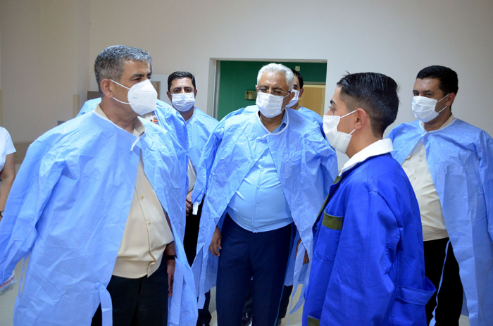 Defense Minister visits the military hospital on the occasion of Armed Forces Day -  VIDEO