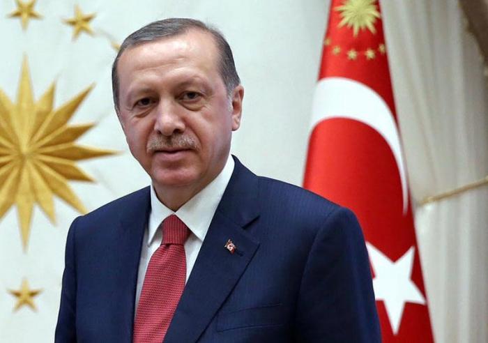 أردوغان يشاهد مباراة المنتخب التركي في باكو