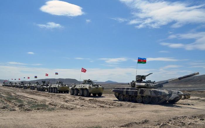 Azərbaycan-Türkiyə birgə təlimi başlayıb