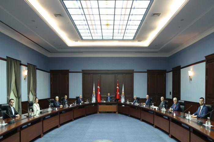 Turkish President Erdogan receives NAP delegation -  PHOTO