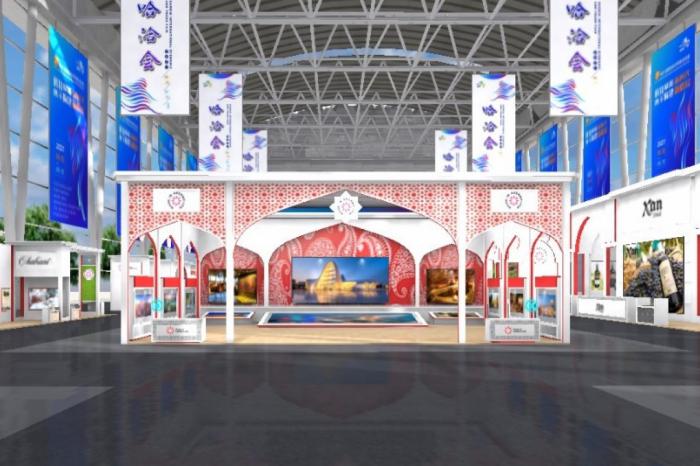 المنتجات الأذربيجانية معروضة في معرض في الصين