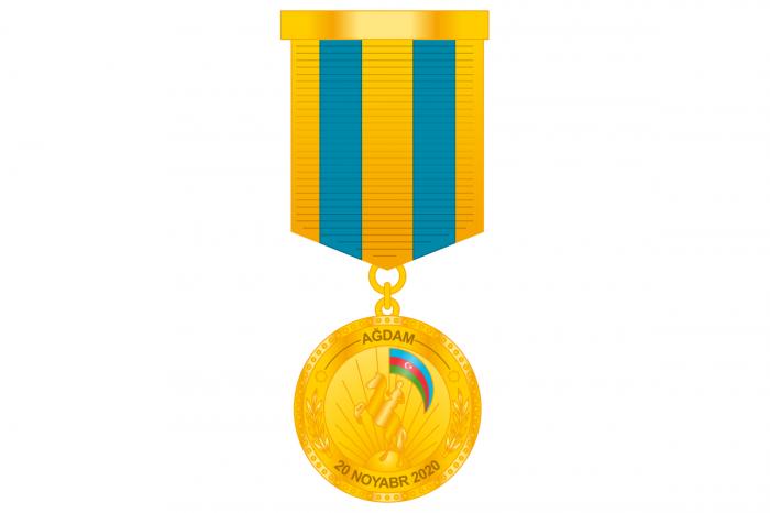 Prezident general-mayoru Ağdam medalı ilə mükafatlandırdı