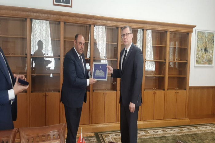 Azərbaycan və Belarus prokurorları görüşdülər