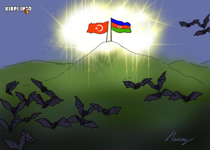 العمليات حول كاراباخ على   كاريكاتور