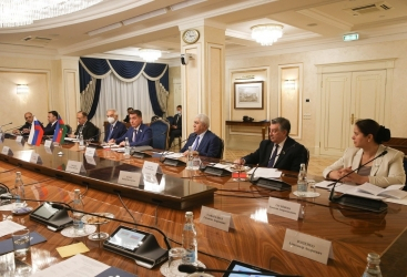 Moscú acoge la reunión de la Comisión Interparlamentaria de Milli Majlis de Azerbaiyán y la Asamblea Federal de Rusia