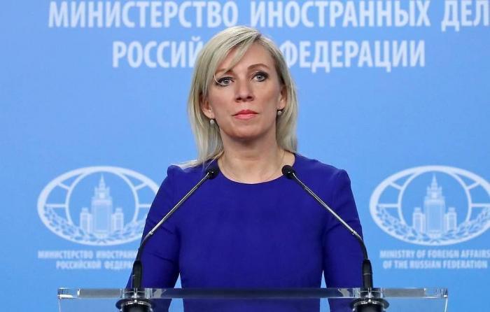 """""""نأمل أن يتم تسريع عملية إزالة الألغام في كاراباخ ،"""" زاخاروف"""
