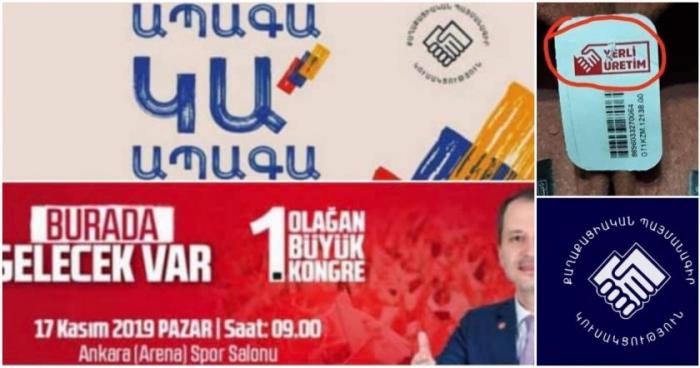 Paşinyan türklərin simvolunu oğurladı -  FOTO