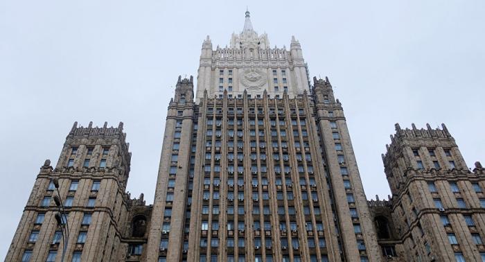 مناقشة كاراباخ في وزارة الخارجية الروسية