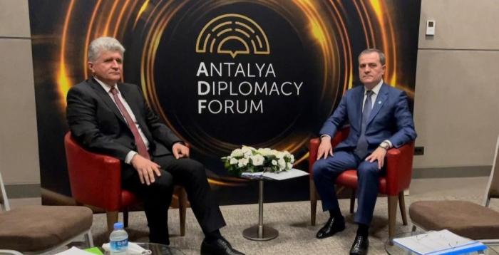 وزير الخارجية الأذربايجاني يلتقي ممثل الأمم المتحدة