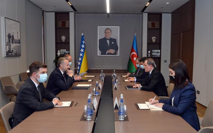 إلتقاء بين وزير الخارجية والوفد البرلماني للبوسنة والهرسك