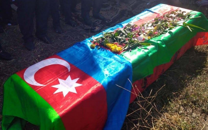 Farewell ceremony held for martyrAzerbaijani Serviceman