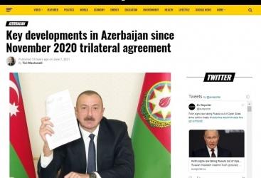 EU Reporter informa sobre los logros de Azerbaiyán en los primeros 200 días después de la guerra