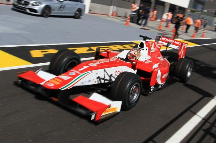 """""""Prema Racing""""in pilotu  birinci sprint yürüşünün qalibi oldu"""
