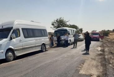 Los periodistas visitan el distrito de Fuzuli
