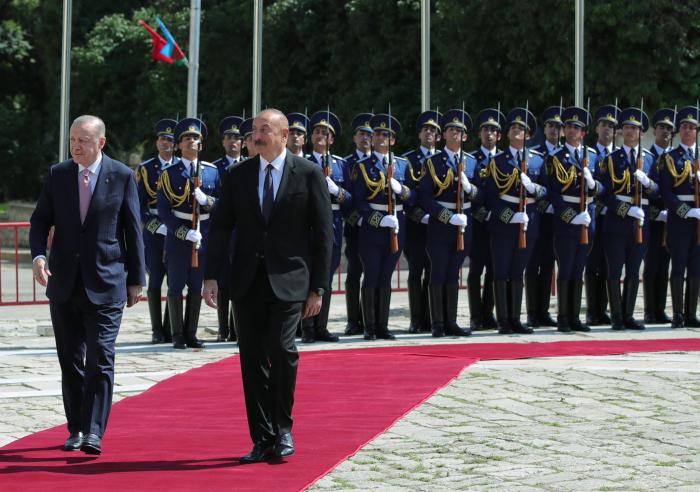 مدينة شوشا تستقبل رئيس تركيا -  صور