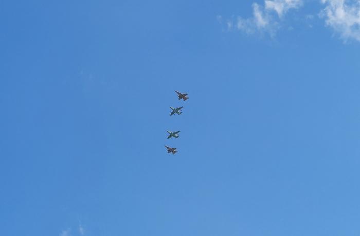 Azerbaijani military pilots accomplish next tasks at int