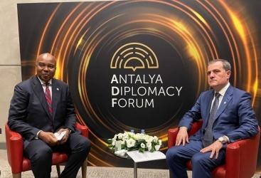 Azerbaijani FM meets with Somali counterpart in Antalya