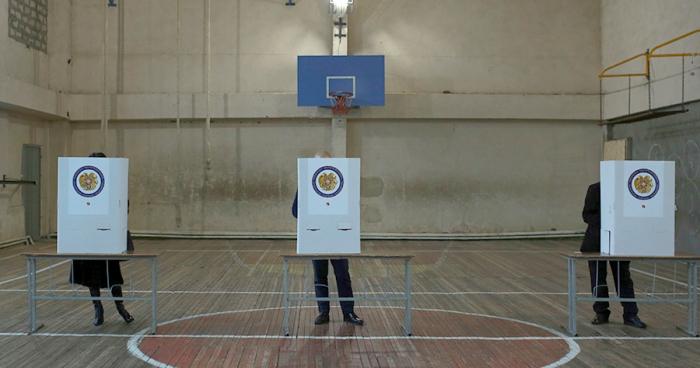 الانتخابات البرلمانية في أرمينيا تنطلق