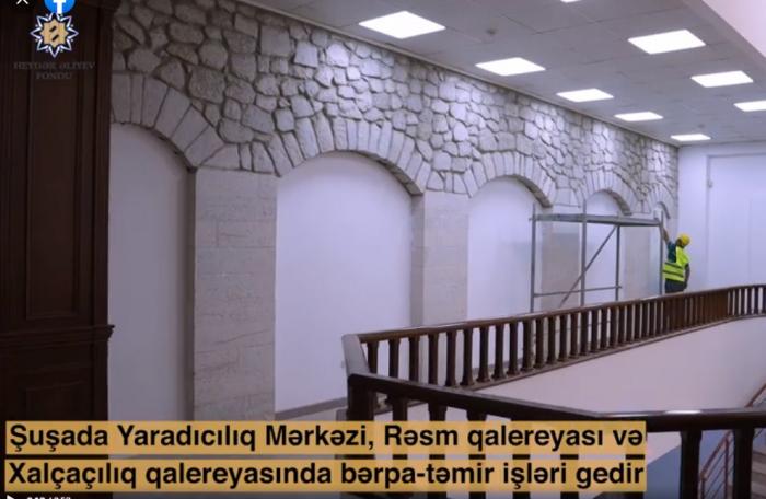Heydər Əliyev Fondunun Şuşada həyata keçirdiyi daha bir layihə -     VİDEO