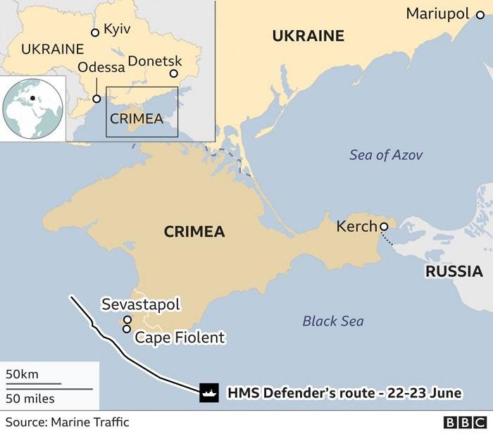 """""""Rusiya sularına qəsdən girdik""""    – BBC-nin müxbiri hadisənin detallarını danışdı"""