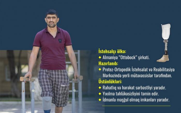 66 qazi yüksək texnologiyalı protezlərlə təmin edildi