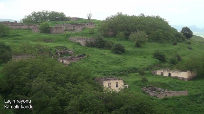 قرية كامالي في منطقة لاتشين -   فيديو