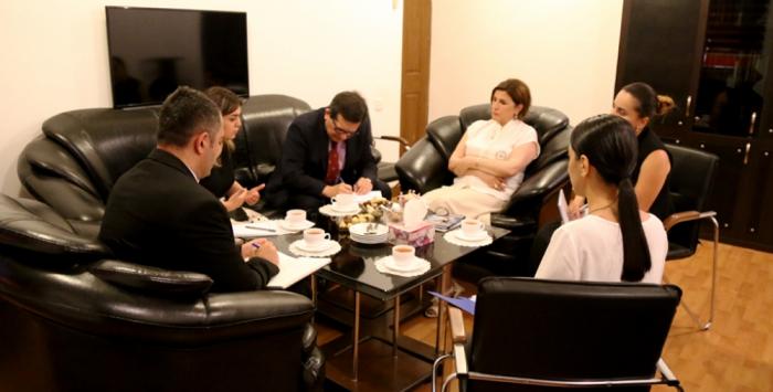 """Fidel Coloma:   """"Debemos aportar al establecimiento de relaciones literarias entre Chile y Azerbaiyán"""""""