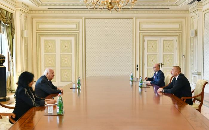 Ilham Aliyev a reçu un Haut Représentant de l