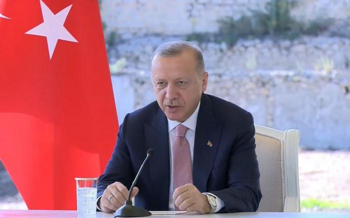 "أردوغان:  "" سننشئ كاراباخ جديدة"""