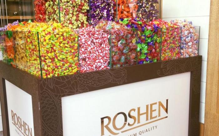 """8,3 ton """"Roshen"""" karamelləri yararsız çıxdı"""