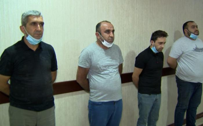 Saxta spirtli içkilər hazırlayan cinayətkar dəstə saxlanılıb -    VİDEO
